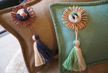 Tassels & Trimmings ideas / PAD UK working with the wonderfully innovative and contemporary versions of age old art of passementerie by Jessica Light.