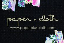 Holiday / Christmas Shop / Holiday and gift items in the Paper + Cloth Shop www.paperpluscloth.ca
