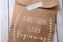 Wedding Inspiration - Favours