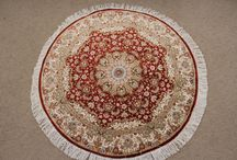 Round Persian Rugs | Round Persian Carpets / Sample of our collection of our round Persian rugs. To see all of our round Persian carpets, feel free to check out http://www.mprugs.com or keep coming back...