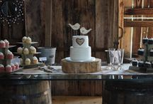 Rustic Buttercream Wedding Cakes / Buttercream Wedding Cakes-Rustic