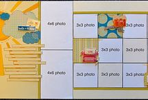 2 page layouts / by Laura Leeper Hargens