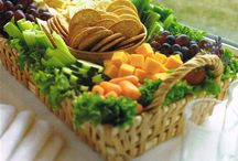 Поднос С Вегетарианской Пищей