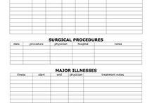 Printable Medical/Hospital