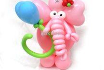 Животные из шаров