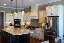 White & Off White Kitchen Cabinetry