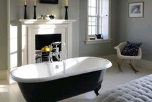 Bath in bedroom