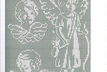 Cross stitch patterns - Angels