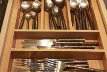 Kitchen Drawers / Drawer storage for Cutlery, Utensils, Spices, Pans etc.