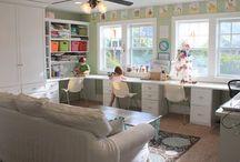 Playroom/Homework Room / by Kristi Comer