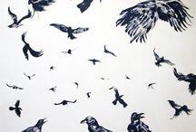 pintura / Pintura en técnicas mixtas, óleo, acuarela, acrílico