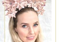 Pink Fascinators & Headpieces by Derby & Power / Pink racewear millinery options - perfect for Spring Racing (Oaks or Stakes Day in particular!)