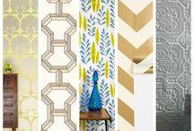 Wallpaper Trends / http://sothebysrealty.ca/blog/2013/11/22/wallpaper-trends/