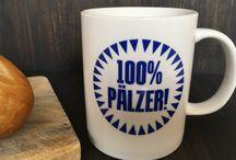 Pfalz Tassen und Becher / Die Kaffebecher und Porzellantassen gibt es bei pfalzando.de