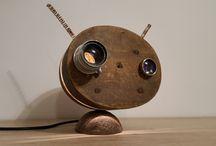 Mood light, cute dog lamp, Punk Trek