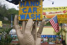 Car Washes Then And Now / by Harold Jaynes