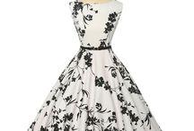 платья в стиле 50s