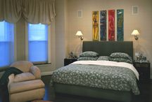 Ideas for the Bedroom / Specialty paint finishes and design ideas