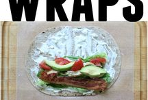Make Ahead Wrap Lunches