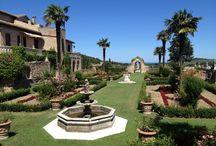L'Antica Villa e i giardini - The Old Villa and the Italian Gardens / L'antica Villa accanto all'hotel e i suoi giardini - The old Villa near the hotel and his gardens
