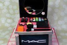 torta caja de maquillaje