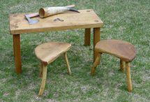 historian elävöitys: tuolit