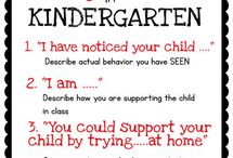 Kindergarten - Positive Beh, Misc / by Meg Murph