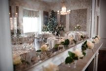 Winter theme wedding / zimní svatba