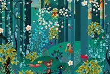 Artist - Charlotte Gastaut / Illustrations of Charlotte Gastaut