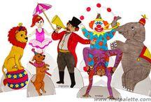 Circus Pre-K theme / by Dorothy Ahearn