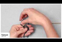 Videos: Crochet Stitch Guides / Learn to crochet as Natalie of Nattypat Crochet demonstrates various crochet stitches from the basic stitches to more advanced stitches.