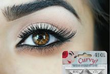 Ardell Curvy Lash Collection / Ardell Curvy Eyelash Collection features lashes with a unique shape that is shorter near the eye and flared towards the outer eye edge.  See Collection at http://goo.gl/CKua5t