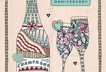 Anniversary & Wedding cards / Anniversary quotes , engagement, wedding
