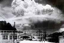 """Hiroshima y Nagasaki: el horror que nunca te contaron / El 6 de agosto 1945 el bombardero estadounidense B-29 """"Enola Gay"""" lanzó una bomba de uranio sobre #Hirsoshima que mató a 70 mil personas. Días después (9 de agosto), la """"Fat Man"""" (hombre gordo) fue lanzada sobre la población civil de #Nagasaki matando a unas 40 mil personas."""