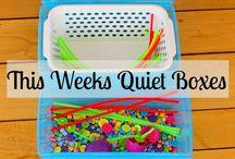 Preschool Quiet Time Activities 2017