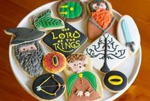 book style cake & cookies