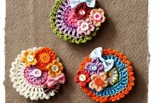 crochet broches