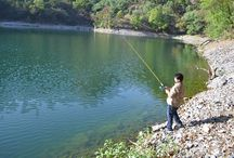 Fishing, Trekking in Uttarakhand / Fishing, Trekking in Bhimtal (Uttarakhand, India), which is a place in the foothills of Himalaya. It is among the best places for Angling and to catch Mahsheer, Fresh Water Trouts etc. in India