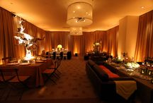 Hotel Vitale - San Francisco / Wedding lighting design and drapery at the Hotel Vitale in San Francisco.