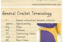 Crochet tutorials & Inspiration :)