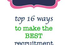 Recruitment! / by DruryKD