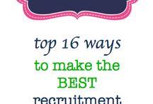 Recruitment / Sorority recruitment '15-16