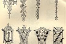 Decorative Alphabet / by Mary Townsley-Ross