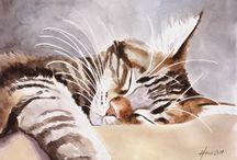 Кошачий арт