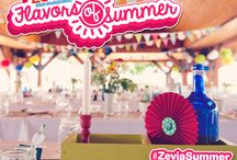 Zevia Flavors of Summer / A summertime party for the kids inspired by Zevia's Ginger Root Beer!