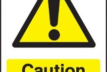 Chemical Danger warning signs / We all need to keep our workplace accident free. To help business and industry in the UK, the Sign Shed has introduced a range of Chemical hazard warning signs. These chemical warning signs are designed to warn of chemical hazards to physical health for both workers and members of the general public.  As with all warning signs, they feature a triangular shape with a black picture on a yellow background with a black border.