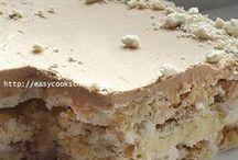 торты и печенья