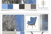 MY MOODBOARDS i miei concept / pannelli tendenza, moodboards, accostare le textures, colori, materiali, stili
