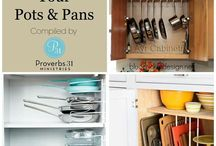 Kitchen Organization / Organizing tips, products, and ideas for the kitchen from Forte Organizers, LLC.