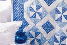 Blue & White quilts